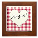 Auguri Framed Tile