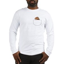 Hamster pocket pal Long Sleeve T-Shirt