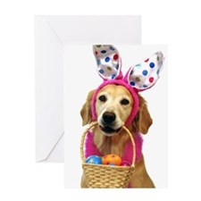 SNAPshotz Golden Easter Bunny Photocards Greeting