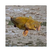 Catfish shower curtain Queen Duvet