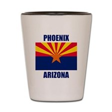 Phoenix Arizona Shot Glass