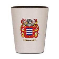 Marinello Coat of Arms - Family Crest Shot Glass