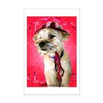 Red Hat Cairn Mini Poster Print