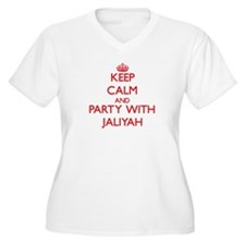 Keep Calm and Party with Jaliyah Plus Size T-Shirt