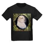 Clumber Spaniel Hunter Kids Dark T-Shirt