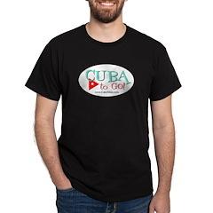 Cuba to Go! Logo Dark T-Shirt