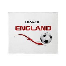 Soccer 2014 ENGLAND 1 Throw Blanket