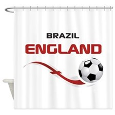 Soccer 2014 ENGLAND 1 Shower Curtain