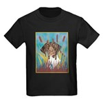 German Shorthair Pointer Kids Dark T-Shirt