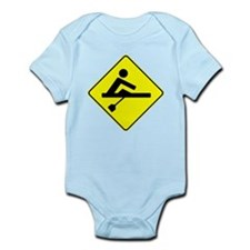 Rower Crossing Body Suit