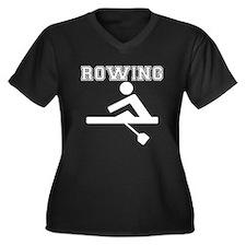 Rowing Plus Size T-Shirt