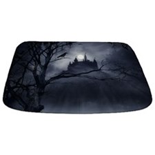 Gothic Night Fantasy Bathmat