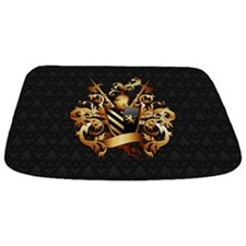 Medieval Coat Of Arms Bathmat