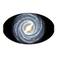 Milky Way Oval Decal