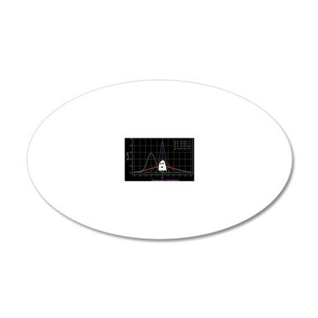 Paranormal Distribution 20x12 Oval Wall Decal