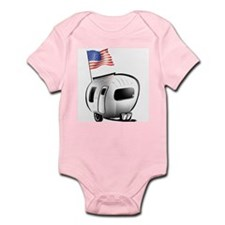 Happy Camper USA Infant Bodysuit