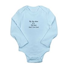 Pittie Long Sleeve Infant Bodysuit