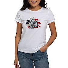 America flag Husky Tee