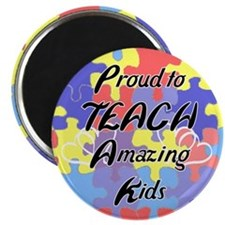 "Proud to Teach Kids 2.25"" Magnet (100 pack)"