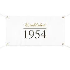 Established 1954 Banner