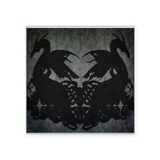 Shadowed Dragons - Square Sticker 3&Quot; X 3&Quot