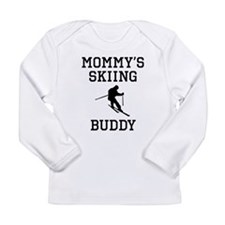 Mommys Skiing Buddy Long Sleeve T-Shirt