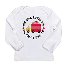 My Oma Loves Me Long Sleeve Infant T-Shirt