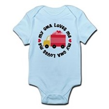 My Oma Loves Me Infant Bodysuit