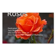 Rose Calendar Cover Image Decal
