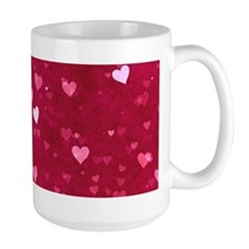Bokeh Little Hearts Mug