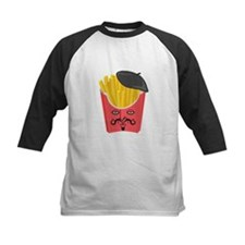 Le French Fries from France Baseball Jersey