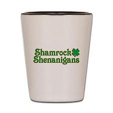 Shamrock Shenanigans Shot Glass