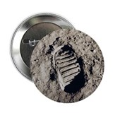 "Moon Footprint 2.25"" Button (10 pack)"