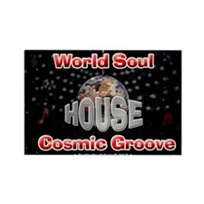 World Soul Rectangle Magnet (10 pack)