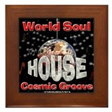 World Soul Framed Tile