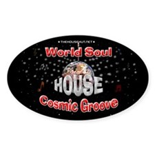 World Soul Oval Decal