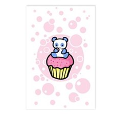 Pink Pandacake Postcards (Package of 8)