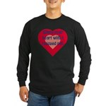 Share Your Heart Long Sleeve Dark T-Shirt