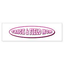 Track & Field Mom Bumper Bumper Sticker