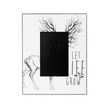 Let life Grow white Picture Frame