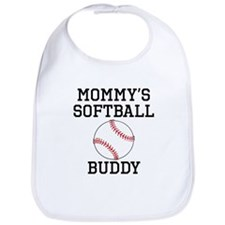 Mommys Softball Buddy Bib