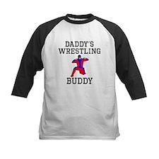 Daddys Wrestling Buddy Baseball Jersey