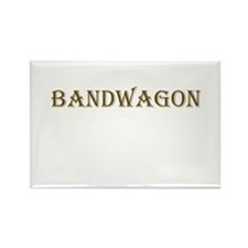 BANDWAGON Rectangle Magnet (100 pack)