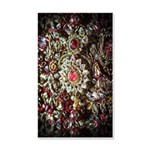 Indian Diamond and Ruby 20x12 Wall Decal