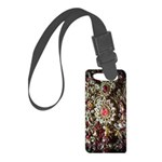 Indian Diamond and Ruby Small Luggage Tag