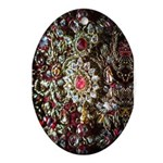 Indian Diamond and Ruby Ornament (Oval)