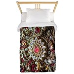 Indian Diamond and Ruby Twin Duvet