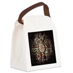 Indian Diamond and Ruby Canvas Lunch Bag