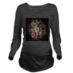 Indian Diamond and Ruby Long Sleeve Maternity T-Sh