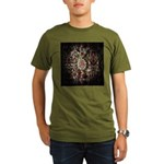 Indian Diamond and Ruby Organic Men's T-Shirt (dar